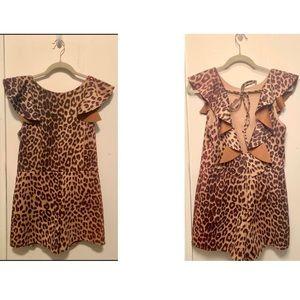 Cheetah Romper